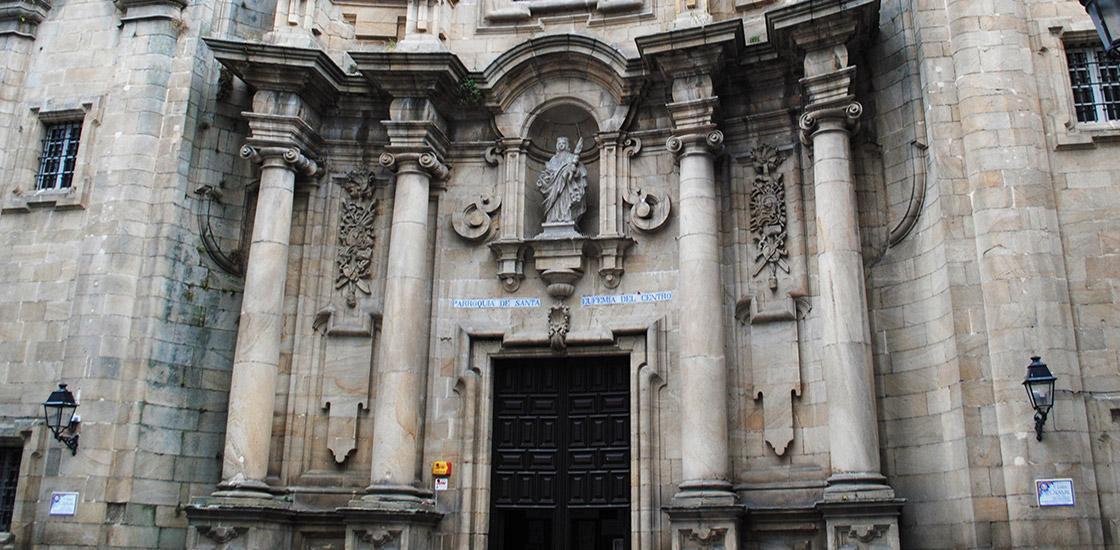 Resultado de imagen de iglesia de santa eufemia ourense